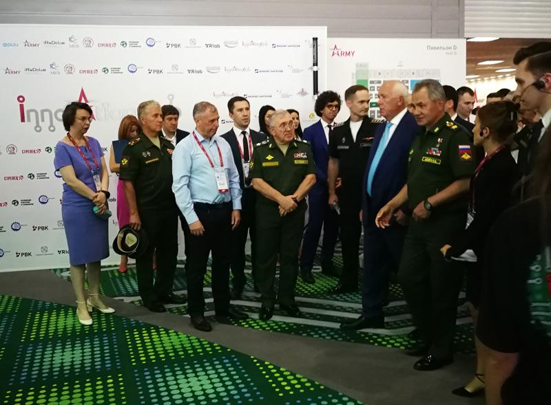 Шойгу на форуме Армия-2017
